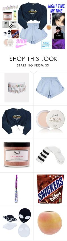 """""""~ I'm Getting More Comfortable ~"""" by hitsuji-boi ❤ liked on Polyvore featuring Marc Wallace, Polo Ralph Lauren, Fresh, FACE Stockholm, Wet Seal and Haus of Dizzy"""