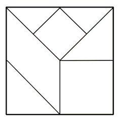 Tipos de Tangram: Quais os tipos de Tangram existentes? Tangram oval, tangram coração, tangram triangular etc - ESPAÇO EDUCAR Flyer Design, Layout Design, Tangram, Geometric Pattern Design, Stained Glass Designs, Fused Glass, Pixel Art, Zentangle, Art Sketches