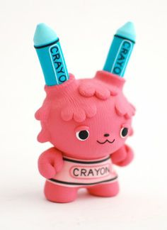 Crayola Monster by Jenn and Tony Bot. Cute and funny toy design