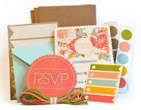 """다음 @Behance 프로젝트 확인: """"Garden Party Invitation Kit"""" https://www.behance.net/gallery/3326520/Garden-Party-Invitation-Kit"""