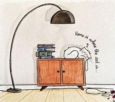 Pattes de Velours & Co, le blog de chat !: Atelier chat-quarelle