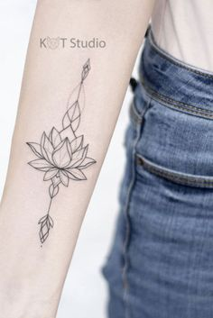 Lotus Tattoo Design, Minimal Tattoo Design, Tattoo Designs, Unalome Tattoo, Sternum Tattoo, Calf Tattoo, Ankle Tattoo, Tattoo Script, Tattoo Fonts