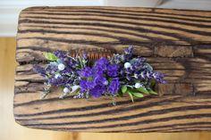 Lavender Hair Comb