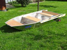 Little aluminium boat - Barque aluminium