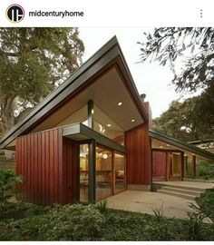 """The Blodgett-Calvin """"Huts"""" residence is a modern home-studio serving as a ceramic studio for couple Mary Blodgett and Carlton Calvin. Japanese House, Clever Design, Mid Century House, Maine House, Modern Architecture, Home Remodeling, Exterior, House Design, Outdoor Decor"""