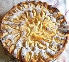 Apple cheesecake from sistrella Apple Cheesecake, Cheesecake Recipes, How To Make Pastry, Vegan Pastries, Gateaux Cake, Piece Of Cakes, Pampered Chef, Popular Recipes, No Bake Desserts