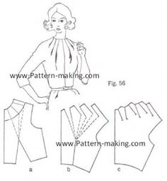 It is a good idea to look at the examples of model patterned blouse patterns :) :) . Dress Sewing Patterns, Blouse Patterns, Clothing Patterns, Skirt Patterns, Coat Patterns, Sewing Hacks, Sewing Tutorials, Sewing Projects, Dress Tutorials