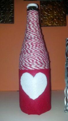 Valentine bottle