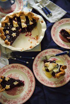 American Pie with Vanilla Bean Custard