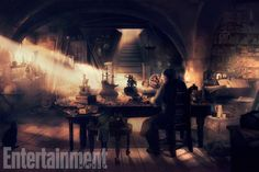 See the Concept Art That Brought the Beautiful Scenery of Beauty and the Beast to Life