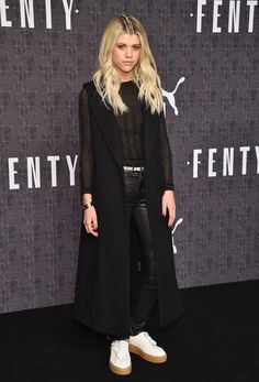 Sofia Richie attends the FENTY PUMA by Rihanna AW16 Collection during Fall 2016 New York Fashion Week at 23 Wall Street in New York City on Feb. 12, 2016.