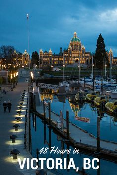 Things to do and where to eat in Victoria, British Columbia, Canada. 48 hours in Victoria BC Ottawa, Victoria British Columbia, Victoria Canada, Visit Victoria, Places To Travel, Places To See, Travel Destinations, Sunshine Coast, Dream Vacations