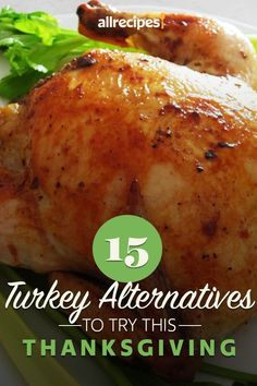 """11 Turkey Alternatives to Try This Thanksgiving 