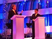 Cássio Cunha Lima e Ricardo Coutinho se enfrentam no último e decisivo debate eleitoral promovido pelas TVs Paraíba e Cabo Branco