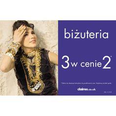 W najbliższą środę, tj. 18.09, rozpoczynamy  promocję biżuterii.  3 w cenie 2. KUP3 PRODUKTY A ZAPŁACISZ TYLKO ZA 2. Najtańszy produkt gratis :).