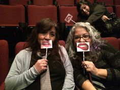 Fifty shades baby! Me and my sis biting our lips!