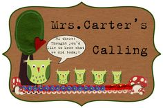 Mrs. Carter's Calling