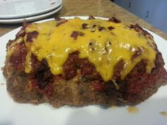 Meatloaf in the microwave. ...omg, sooo good! Gotta have the Pampered Chef Deep Covered Baker