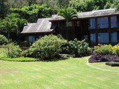 Anini Beach House, North Shore, Kauai. Yard.
