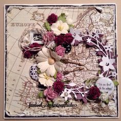 Tartine Peluche Floral Wreath, Wreaths, Tags, Painting, Life, Home Decor, Plushies, Cards, Flower Crowns