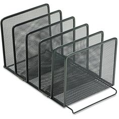 Rolodex Mesh Stacking Sorter, 5 Sections, Black - For possible Chromebook Storage $12.69 each
