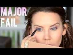 ▶ EPIC FAIL First Impression | Fergie Wet n Wild Longwear Liner - YouTube