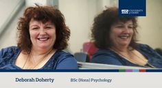 Deborah, BSc (Hons) Psychology student, talks about the transferable skills of her course, and the infectious enthusiasm of our expert lecturers. Find out more about our Psychology course: www.derby.ac.uk/courses/psychology-bsc-hons/ #derbyuni