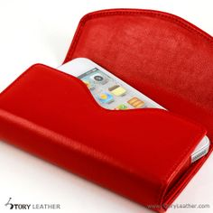 Plain Red Double Decker for Two Apple iPhone 5S
