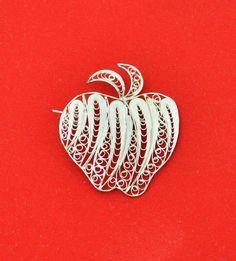 Apple brooch...√