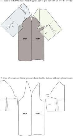 Introduction to Pattern Cutting: Raglan Sleeve