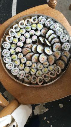 Zelfgemaakte sushi!