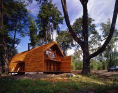 Barn House. Architects: Cazú Zegers G.  Location: Kawelluco, Chile