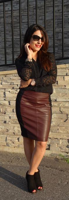 My Fash Avenue | black suede peeptoe booties