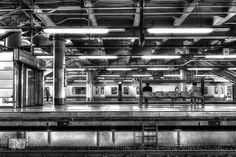 Platform of Tohoku Line (UENO Sta.) by xperiane , via 500px