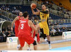 FIBA CHAMPIONSLEAGUE 5ος ΟΜΙΛΟΣ - 1η αγωνιστική  ΑΕΚ-ΖΟΛΝΟΚΙ:92-49