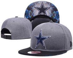 f66a5065a6b A1679 NFL Dallas Cowboys Heather 2 Tone Snapback Hats Brim Logo  Underneath