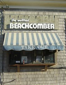 Place to eat in Wellfleet - eat? who goes to eat? Order the something or other smash and dance to Incredible Casuals!!