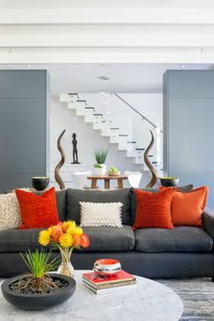 contemporary living room grey couch design ideas pictures remodel and decor page. Interior Design Ideas. Home Design Ideas