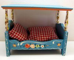 DORA KUHN DOLLHOUSE CANOPY BED (HIMMELBETT) MADE IN GERMANY   eBay