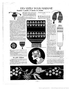 Crochet Vintage, Diy Vintage, Vintage Crafts, Vintage Sewing Patterns, Knit Patterns, Embroidery Patterns, Sewing Hacks, Sewing Projects, Journal Vintage