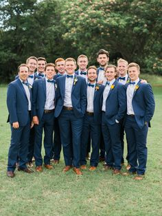 #groom #groomsmen #summerwedding // Leslie Herring Events // Josh McCullock Photography