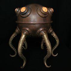 Evan Chambers Giant Octopod Lamp