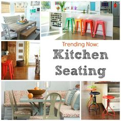Great Kitchen Seating trends