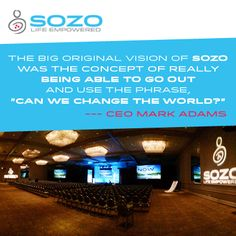 How has SOZO changed your world? #MotivationalMonday