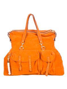 T.Lipop 'Holdall' suede bag