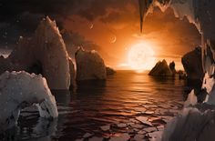 NASA открыло потенциально пригодные для жизни планеты / Моя Планета