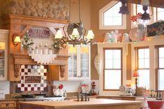 Christmas kitchen ~ Sugar Pie Farmhouse