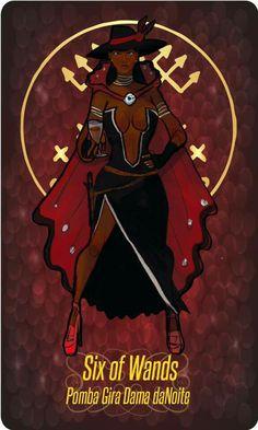 Pomba Gira Dama daNoite Black Women Art, Black Art, Traditional Stories, Black Anime Characters, Online Tarot, Orisha, Afro Art, Gods And Goddesses, Book Of Shadows