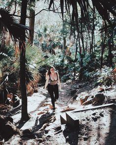 #green #girl #australia #sydney #tropical #palms #forest