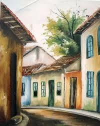 Resultado de imagen para pintura casarios tela